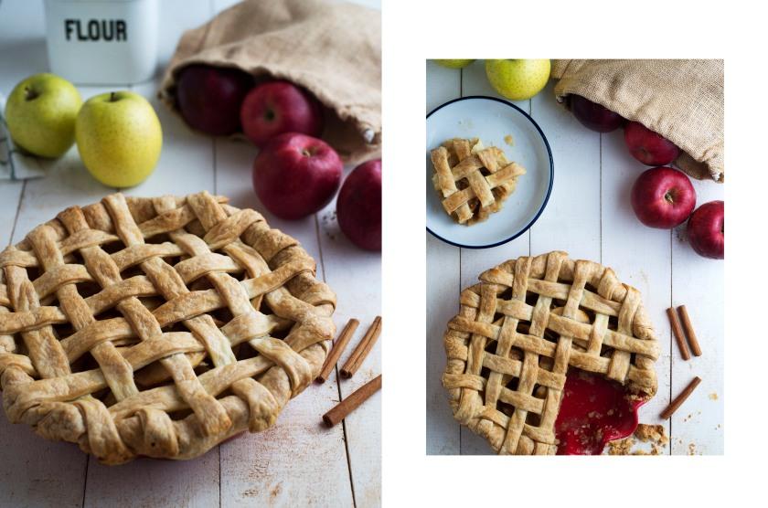 Apple Pie Recipe Mimiclaire Kitchen Baking Desserts_01